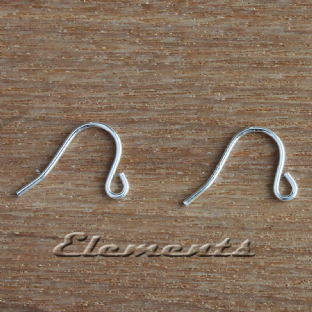 Sterling Silver SMALL Earring Hook Wires